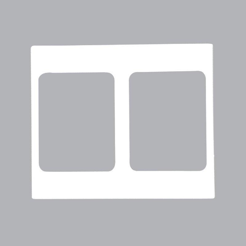 Mặt viền đôi màu trắng A20-WND