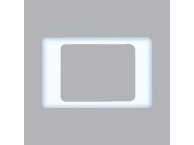 Mặt viền đơn màu trắng A20-WE