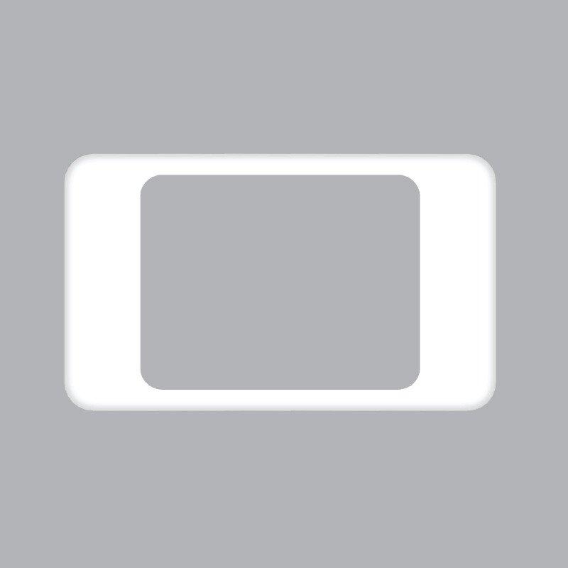 Mặt viền đơn màu trắng kiểu Iphone A20-IP