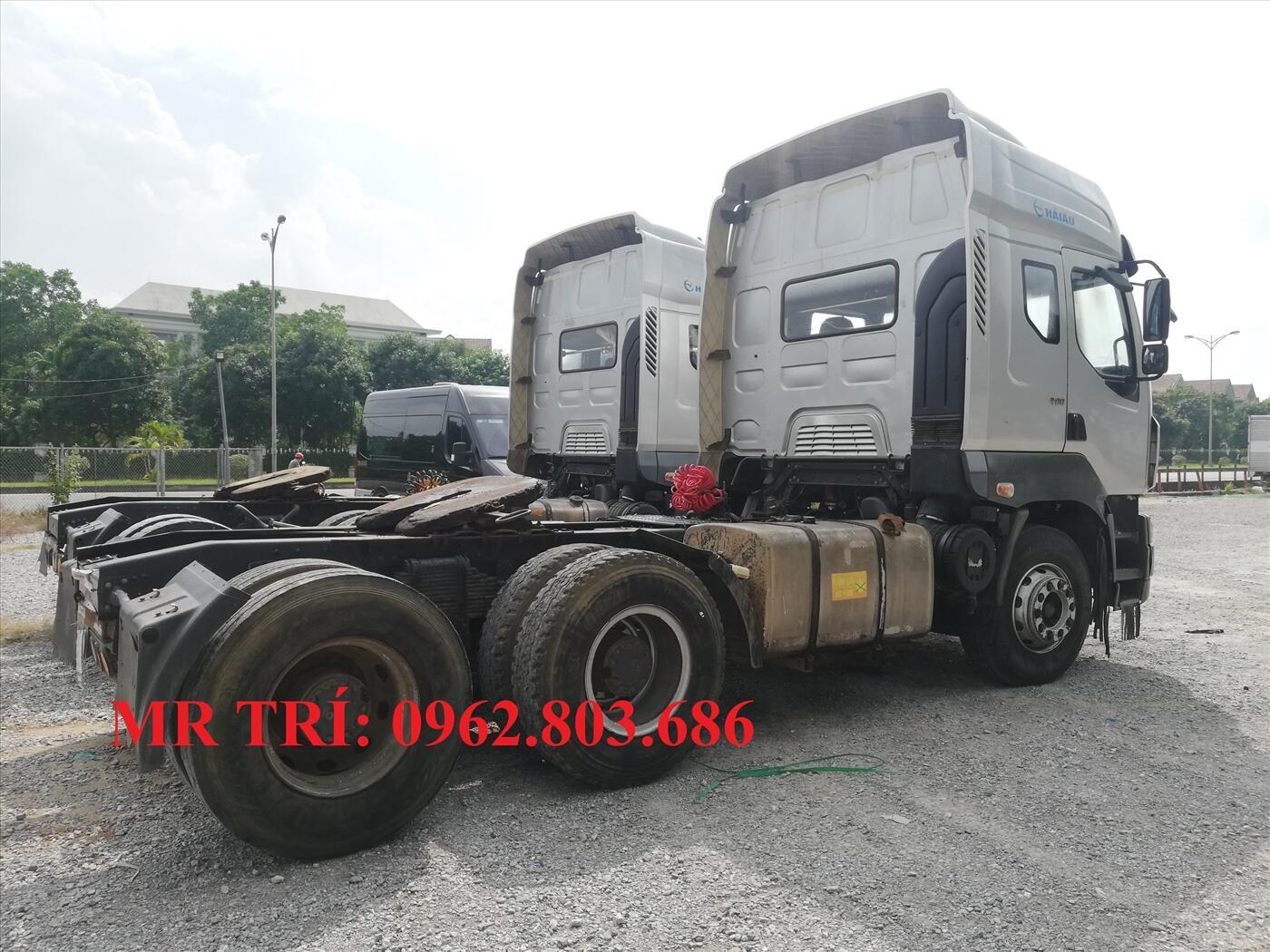 Mua bán xe đầu kéo cũ chenglong tại Long Biên