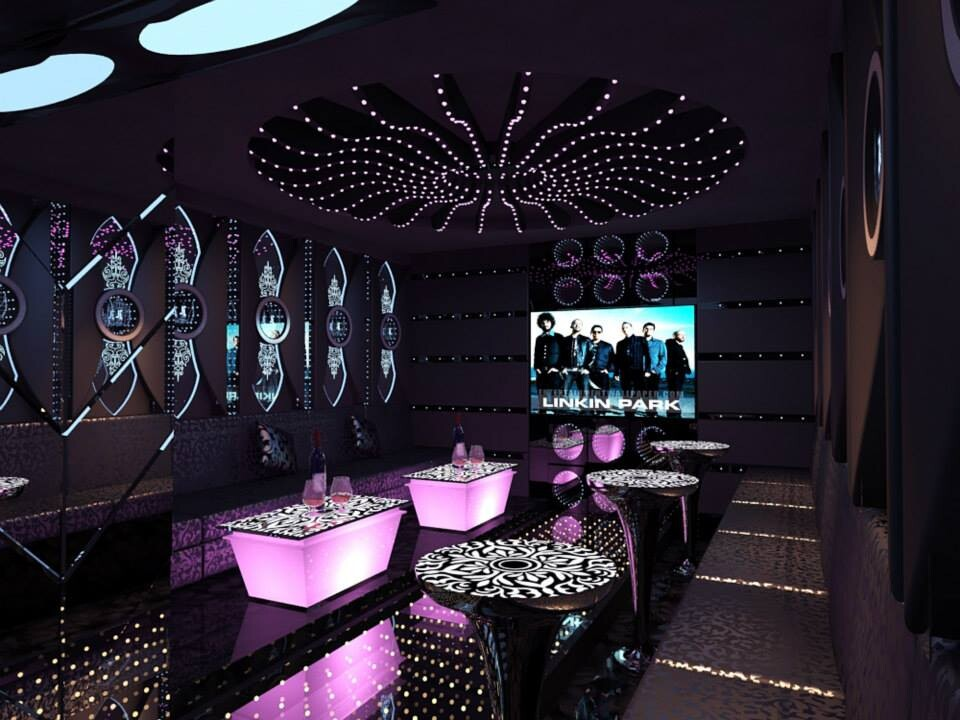 Thiết kế thi công phòng hát karaoke hiện đại tại Quận 6, Tp HCM
