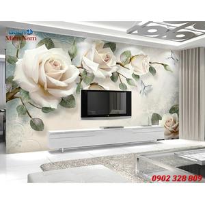 Mẫu tranh 3d ốp tường đẹp HTM22
