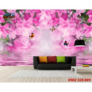 Mẫu tranh 3d ốp tường đẹp HTM24