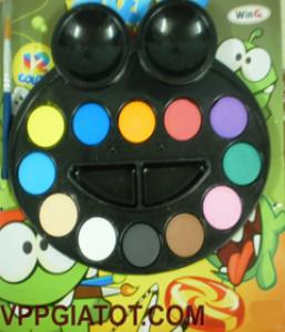 Màu vẽ Frog 12