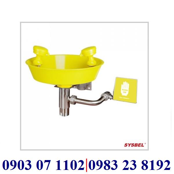 BỒN RỬA MẮT KHẨN CẤP TREO TƯỜNG HÃNG SYSBEL Model: WG7023Y