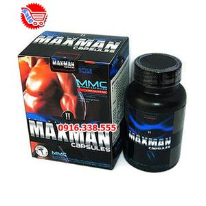 Thuốc tăng kích thước dương vật Maxman II Capsules USA