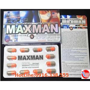 Thuốc Cường Dương Thảo Dược Maxman IV 3800 mg Penis Enlargement