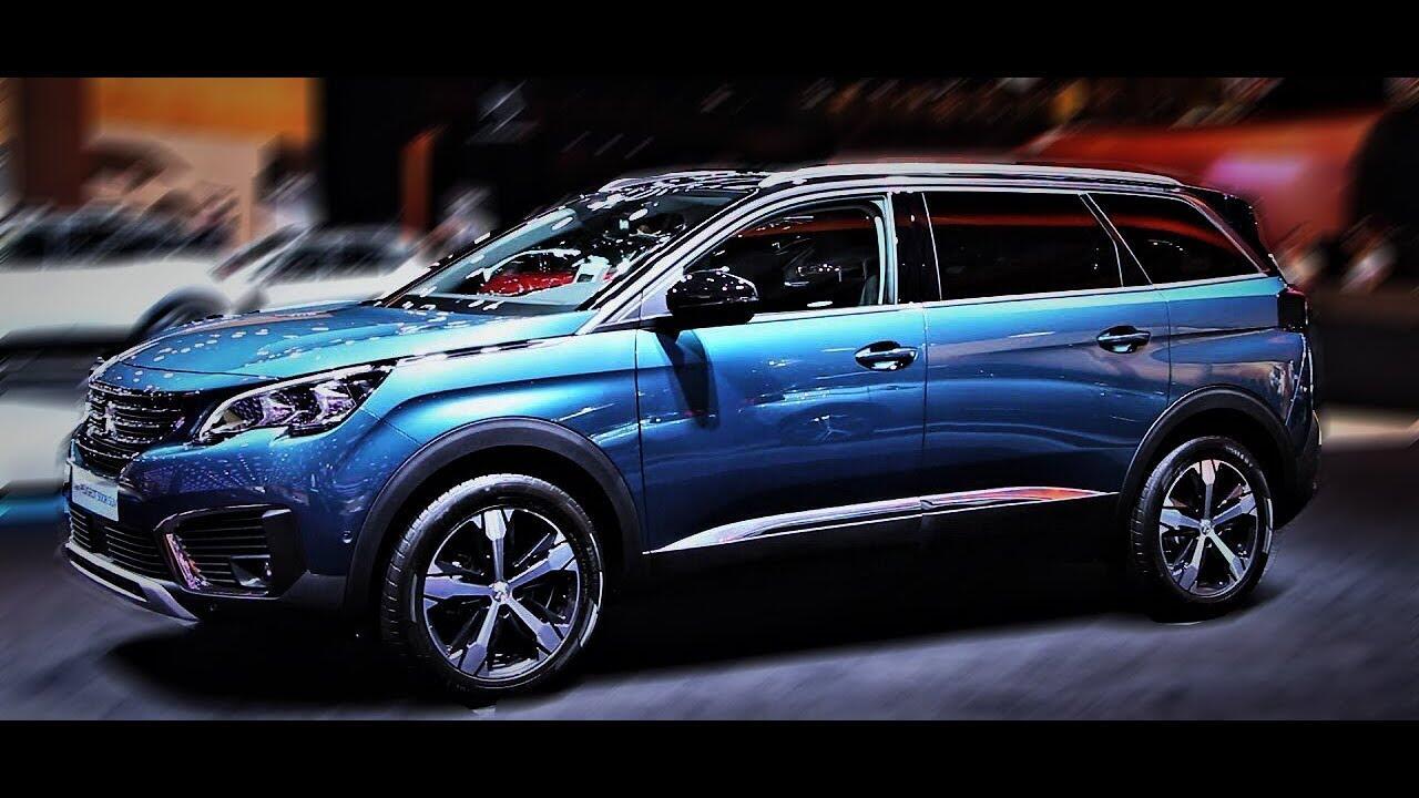 Peugeot Thái Nguyên giới thiệu xe Peugeot 5008 Suv màu Xanh Titan