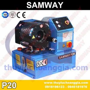 MÁY BẤM ỐNG THỦY LỰC SAMWAY, P20