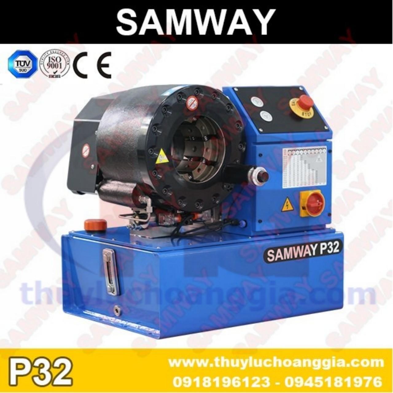 MÁY BẤM ỐNG THỦY LỰC SAMWAY P32