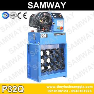 MÁY BẤM ỐNG THỦY LỰC SAMWAY, P32Q