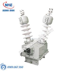 Máy biến áp cấp nguồn trung thế 1 pha ngoài trời kiểu ngâm dầu - Model PT22 - 1HODxS