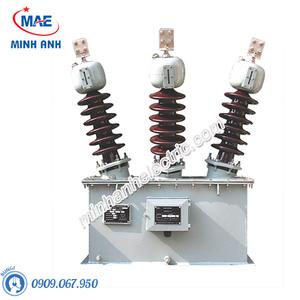 Máy biến áp cấp nguồn trung thế 3 pha ngoài trời kiểu ngâm dầu - Model PTx - 3HODxS