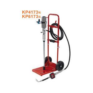 Máy bơm dầu nhớt khí nén kèm xe đẩy Faicom KP4173-KP6173