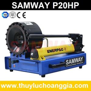 MÁY BÓP ỐNG THỦY LỰC SAMWAY P20HP