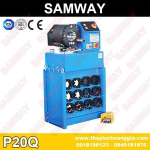 MÁY BÓP ỐNG THỦY LỰC SAMWAY P20Q