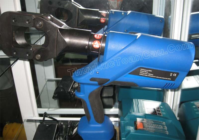 Kìm cắt cáp, Máy cắt cáp dùng pin EZ-45 - Ảnh chụp sản phẩm