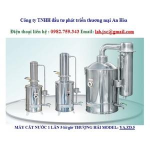 Máy cất nước 1 lần 5 lít/giờ YA.ZD.5