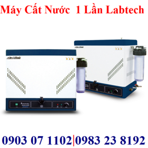 Máy cất nước 1 lần 8lit/giờ Labtech LWD-3008