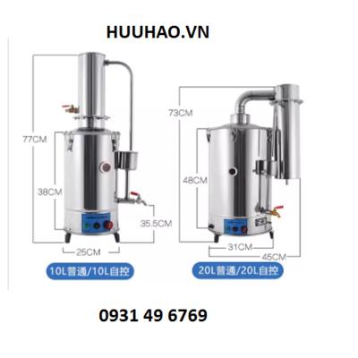 Máy cất nước 1 lần tự động 20lít/ giờ YAZD-20A