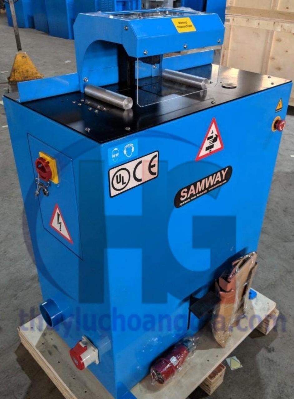 MÁY CẮT ỐNG THỦY LỰC SAMWAY, MODEL: C401