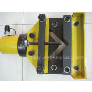 Máy cắt sắt thép góc V L thủy lực HHJG-100