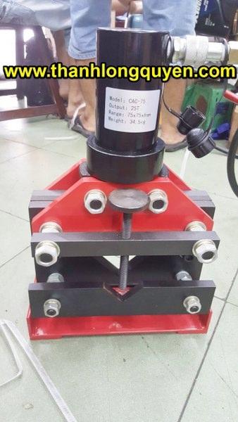 máy cắt sắt thép v thủy lực