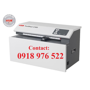 Máy cắt thùng carton HSM ProfiPack C400 (Bộ Dao)