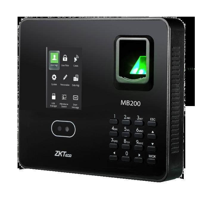 Máy chấm công nhận diện khuôn mặt MB200 (ZKTeco)