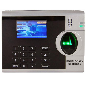 Máy chấm công vân tay, thẻ cảm ứng Ronald Jack 4000TID-C