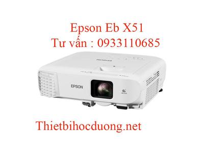 Máy Chiếu Epson Eb X51