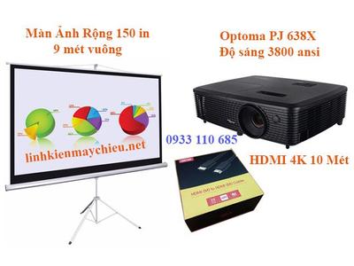 Máy Chiếu HD Chiếu Bóng Đá Màn Ảnh 150 in