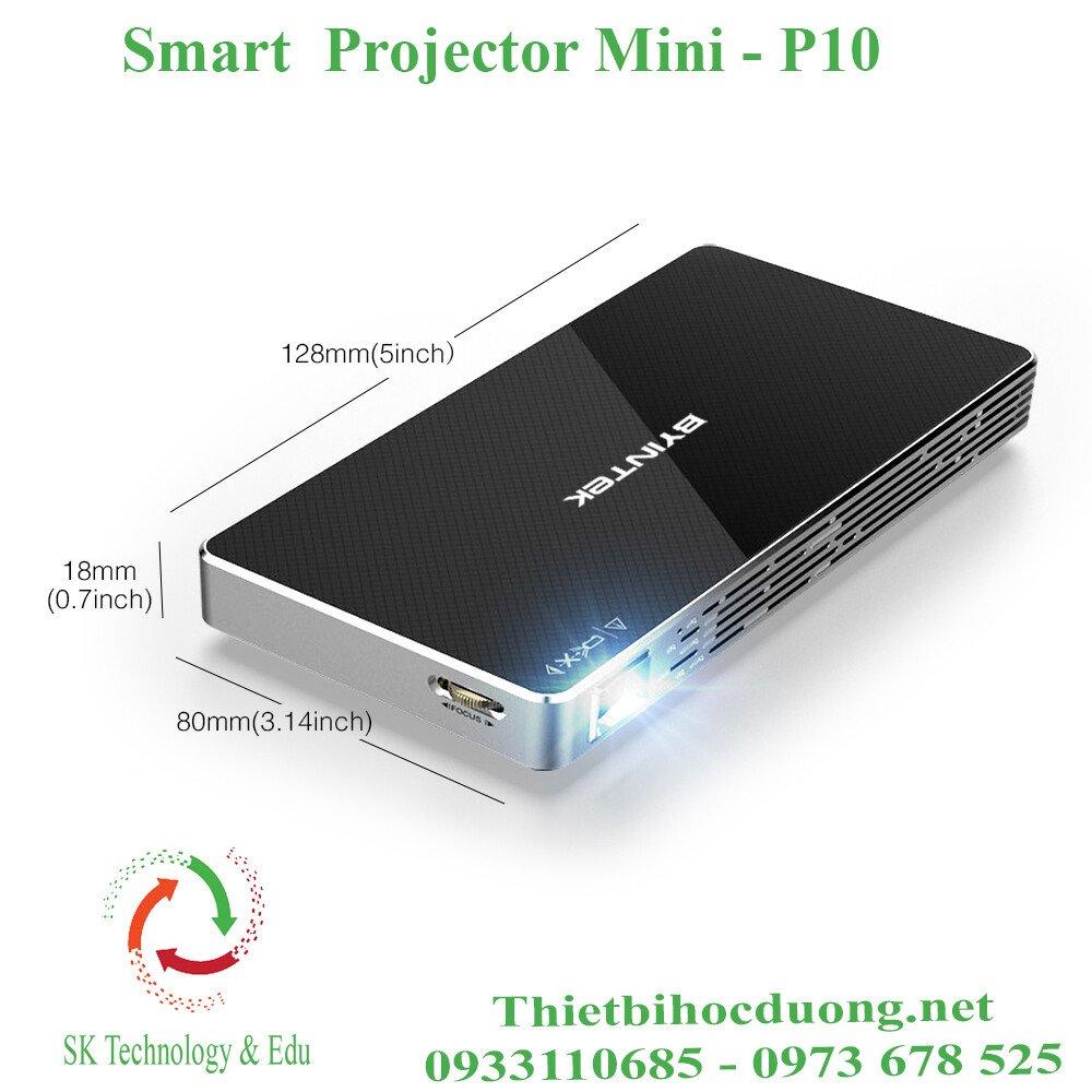 Máy chiếu mini thông minh P10 bỏ túi
