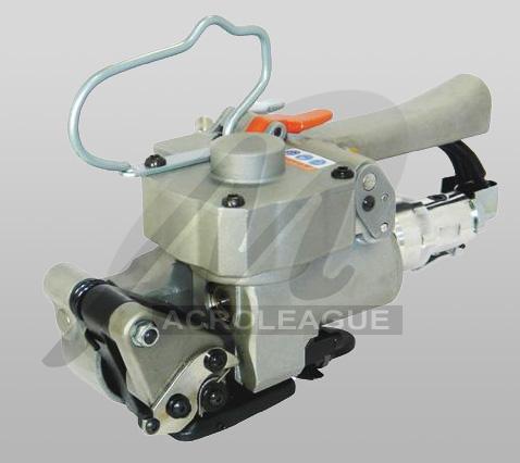 Máy đóng đai nhựa hàn nhiệt dùng khí nén Macroleague MT19