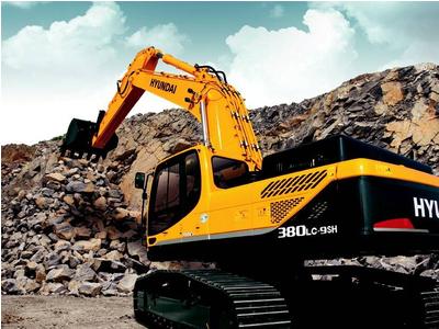 Máy đào bánh xích Hyundai R380LC-9SH