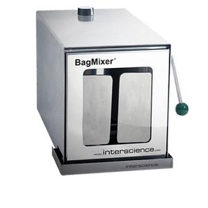 Máy dập mẫu thể tích 50 - 400ml cửa kính Model: BagMixer 400 W