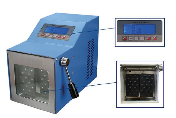Máy dập mẫu vi sinh có khử trùng và làm ấm mẫu LB-4GM hãng Taisitelab
