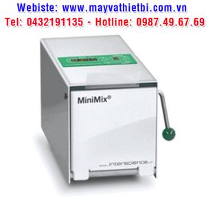 MÁY DẬP MẪU VI SINH CỬA INOX MODEL:MINIMIX 100PCC