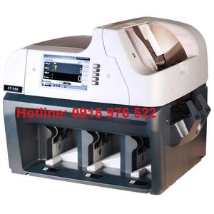 MÁY ĐẾM VÀ PHÂN LOẠI TIỀN ATM Hitachi Nhật ST-350 N