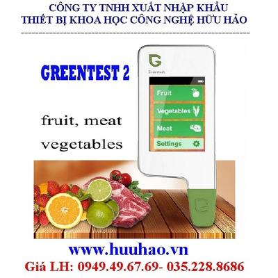 Máy Đo An Toàn Thực Phẩm loại 6 Chức Năng (Rau, Trái Cây, Thịt) Model: GreenTest2