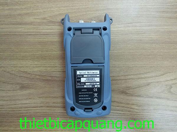 Máy đo công suất quang dùng pin sạc