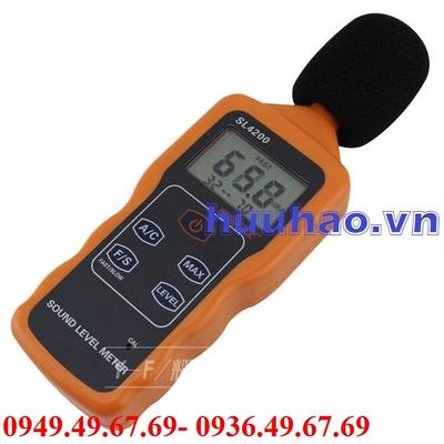 Máy đo cường độ âm thanh SL-4200