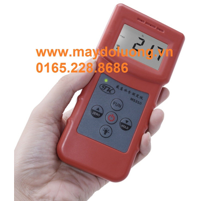 Máy đo độ ẩm bê tông, than, đá, nhựa, cao su MS310