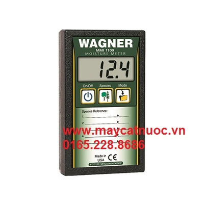 Máy đo độ ẩm gỗ điện tử MMI 1100 Wagner, có bộ nhớ