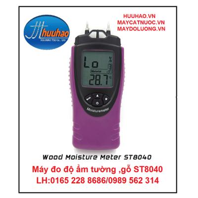 Máy đo độ ẩm tường , gỗ ST8040