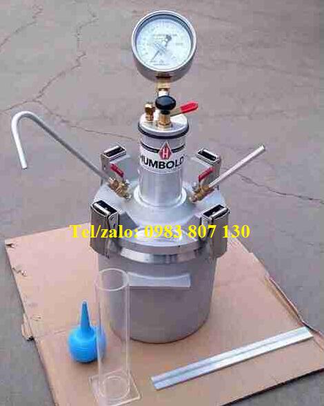 máy đo hàm lượng bọt khí bê tông Mỹ