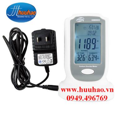Máy đo khí Cacbon Điôxít CO2 GM-8802