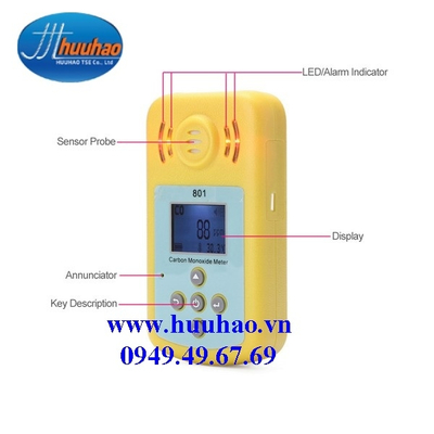 Máy Đo Khí Carbon Monoxide (CO) KXL-801