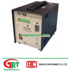 Máy đo khí CHF3 Bionics TG-4700TEB/IR | Transportable Detector TG-4700 | Bionics Vietnam