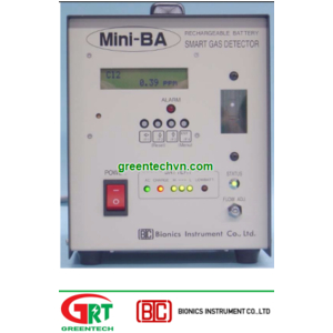 Máy đo khí CO Bionics Mini-BA-1200 | Transportable Detector CO Mini-BA-1200 | Bionics Vietnam